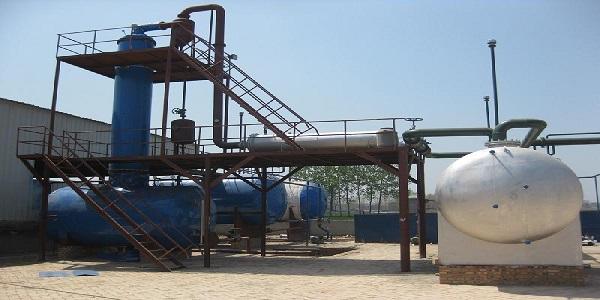 کارخانه تولید روغن پایه تصفیه