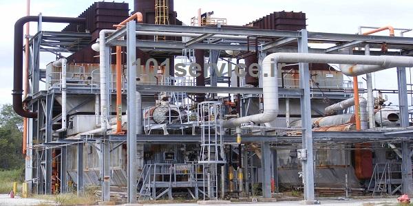 کارخانه تصفیه روغن سوخته روش تقطیر ظرفیت 1000 تن اشتهارد