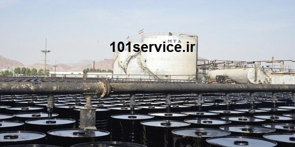 قیر صادراتی نفت جی تناژ تولید نامحدود