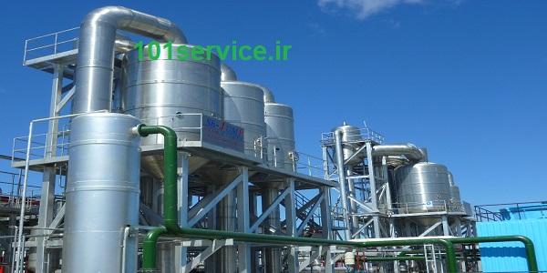 تولید روغن پایه اشتهارد کارخانه تصفیه دوم روغن